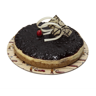 Blueberry Cheese Cake (1 Kg)